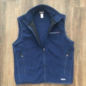 Patagonia Synchilla full zip fleece Vest Large